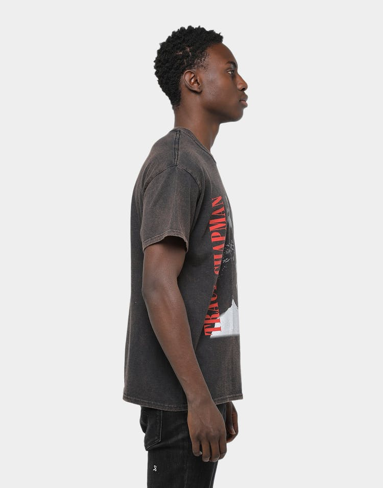 American Thrift Tracy Chapman Vintage Wash Tee Black Wash