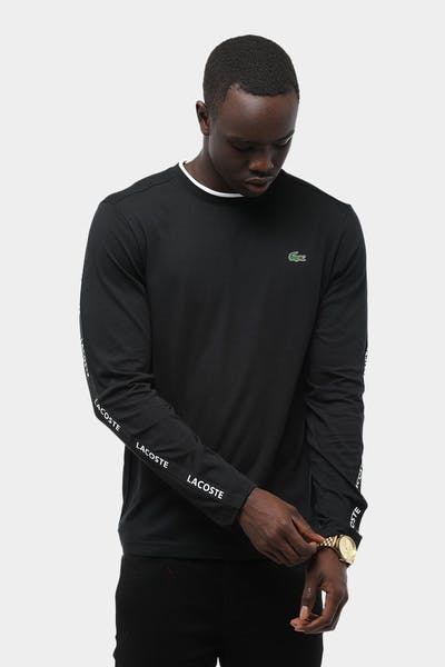 Tennis Training LS Tech Tee