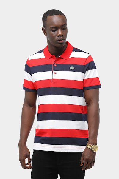 Tennis Striped Super Light Polo