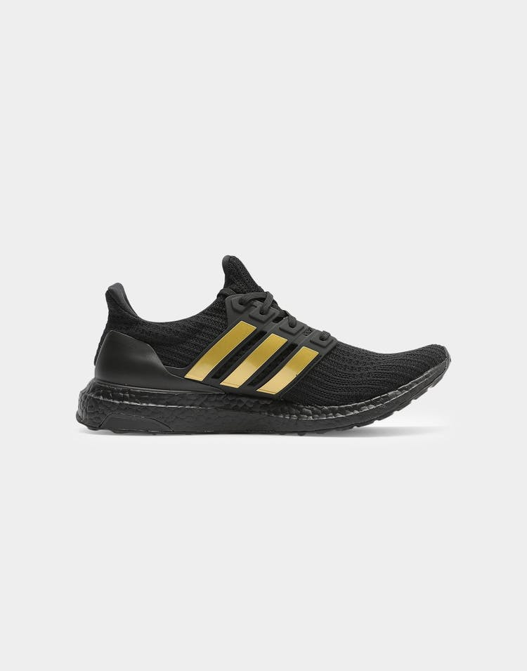 Adidas Men's Ultraboost 4.0 DNA Black/Gold/Black