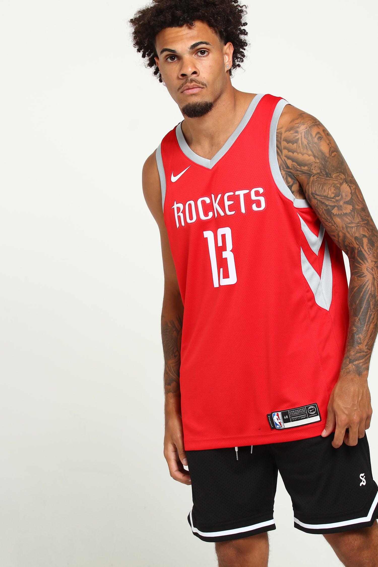 James Harden Houston Rockets #13 Red Youth Road Swingman Jersey