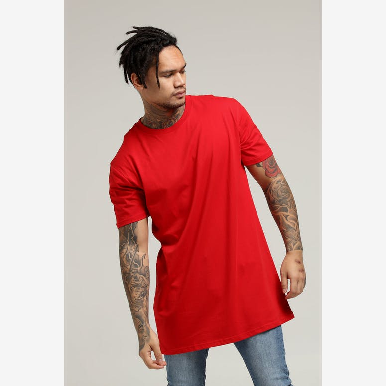 AS Colour Tall Tee Red
