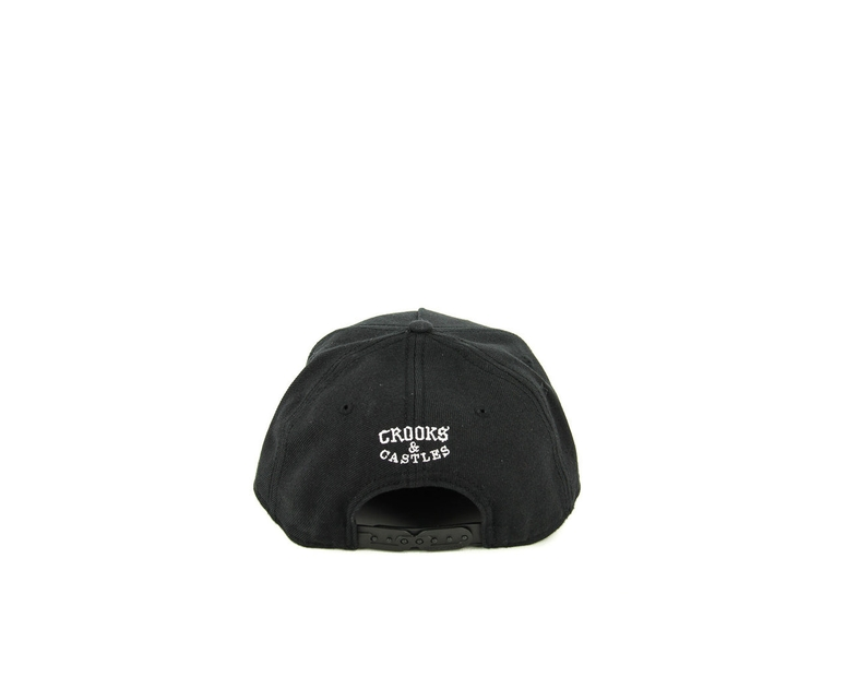 Crooks & Castles Cocaine Caviar Snapback Black