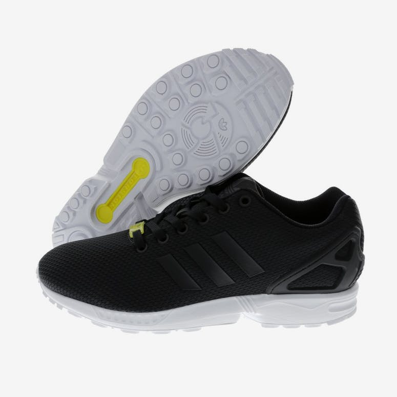 reputable site 15489 394a4 ZX Flux Black white