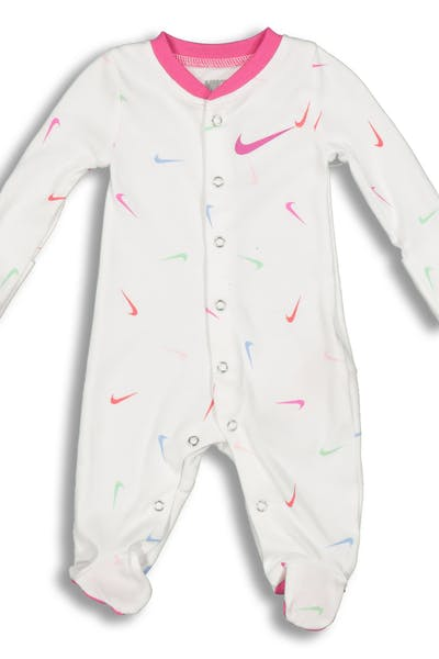 Nike Infant NKG Swooshfetti FTD Coverall White