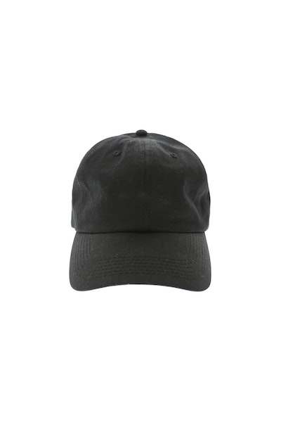 Goat Crew 6panel Precurved Strapback Black