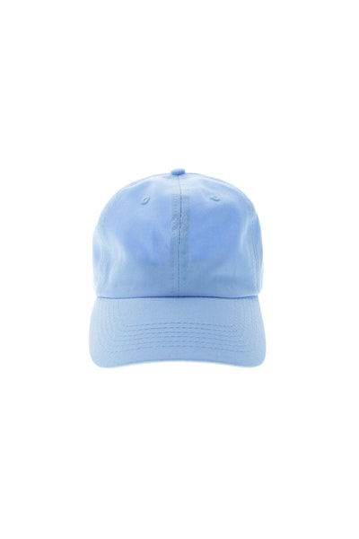 Goat Crew 6 Panel Precurved Strapback Light Blue