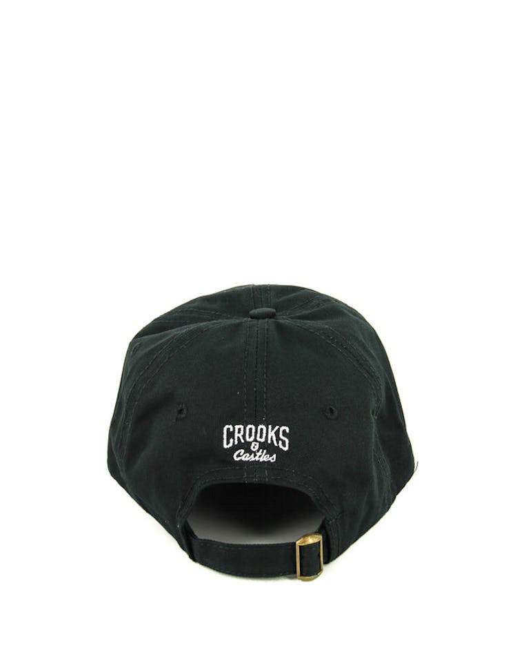 67991cad7fc Crooks   Castles Cocaine   Caviar Dad Hat Black – Culture Kings