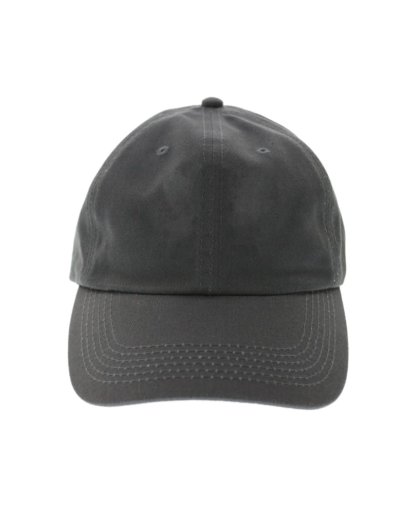 Saint Morta 6 Panel Low Pro Strapback Charcoal