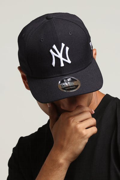 e9b543a6c1078 New Era New York Yankees 9FIFTY Original Fit Precurved Snapback Navy