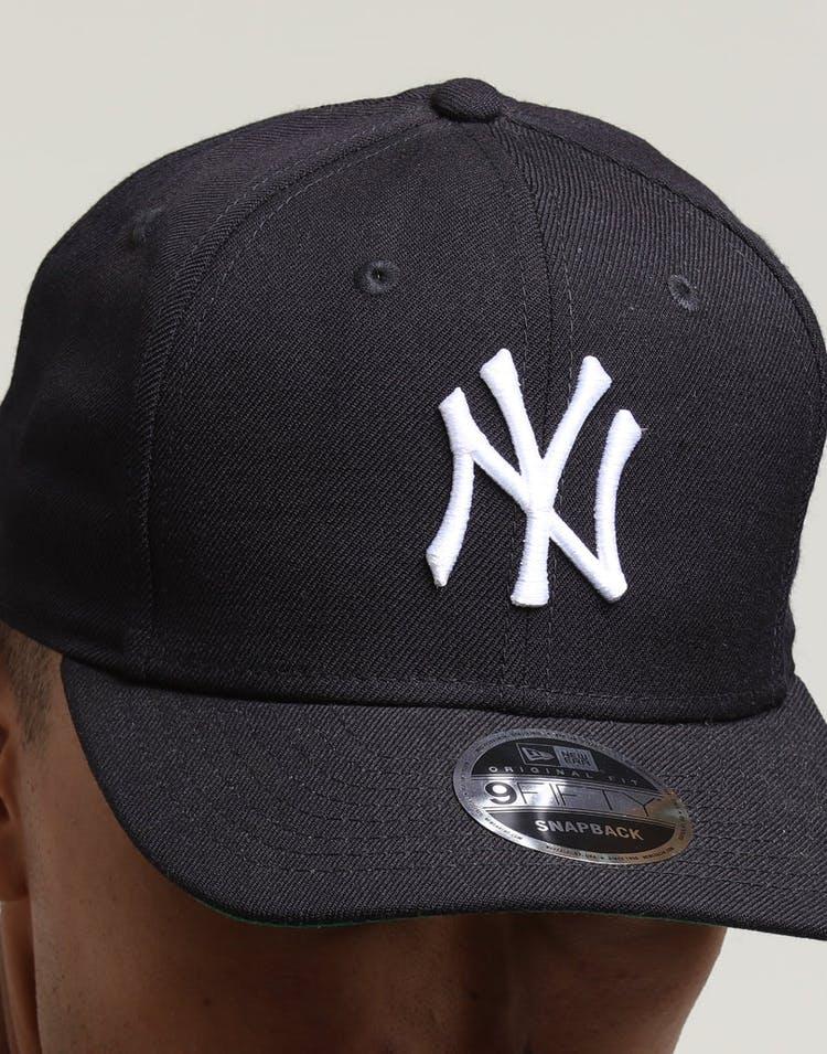 c7616f231 New Era New York Yankees 9FIFTY Original Fit Precurved Snapback Navy