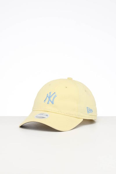 New Era Women's Yankees 920 Strapback Yellow