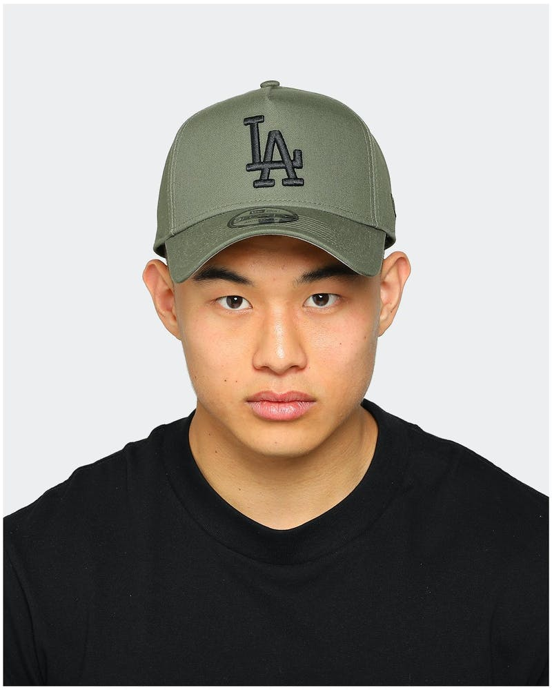 New Era Dodgers 9FORTY A-Frame Olive