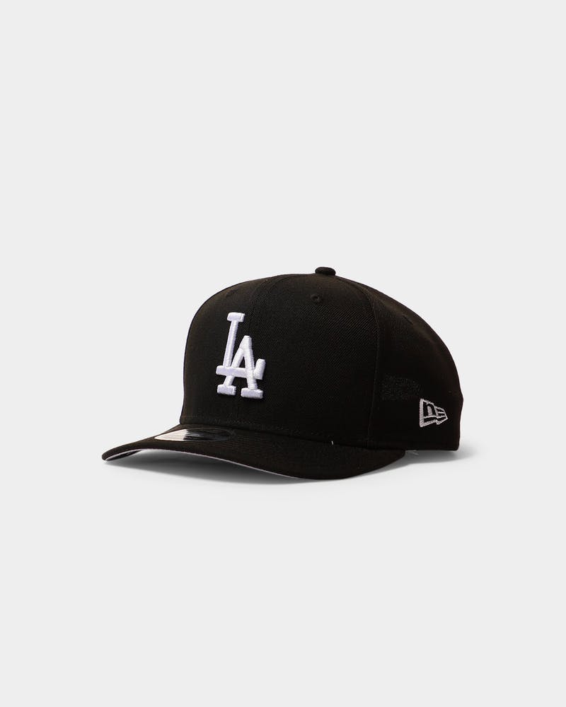 New Era Dodgers 9FIFTY Precurved Black/White
