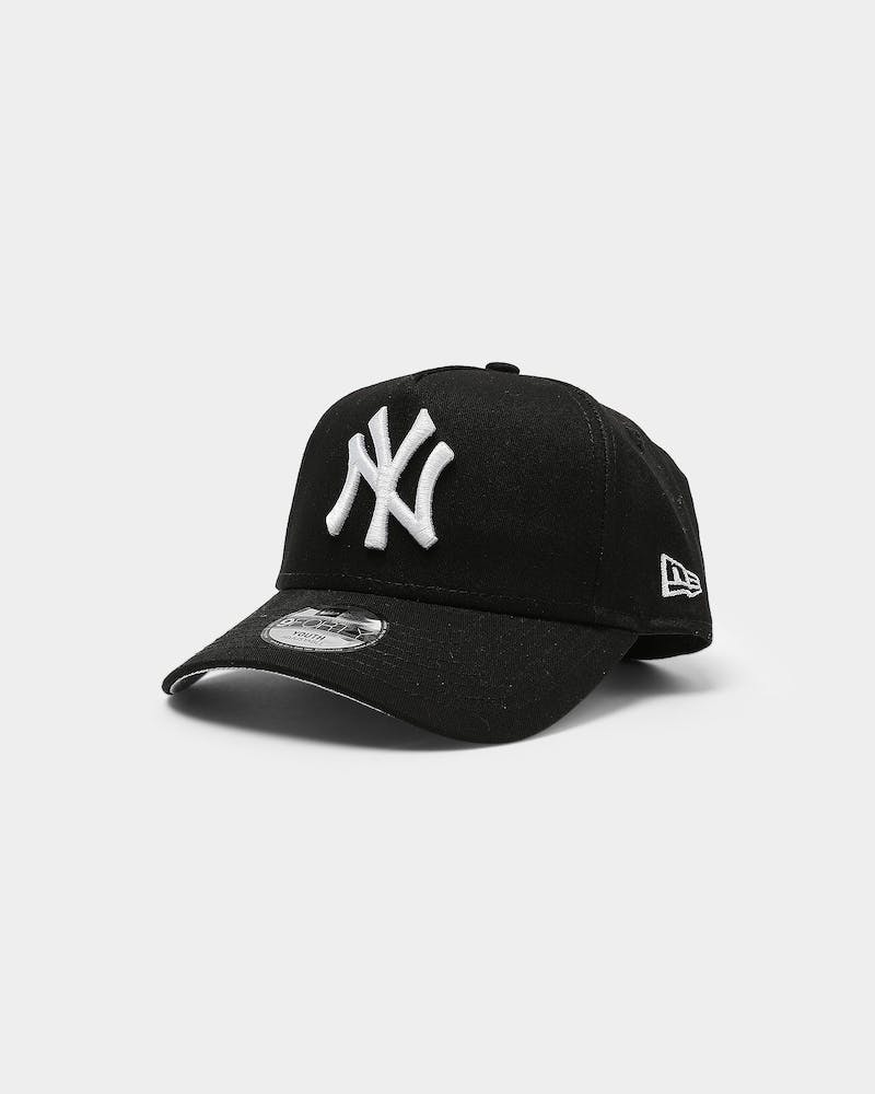 New Era Youth New Era Yankees 9FORTY A-Frame Snapback Black
