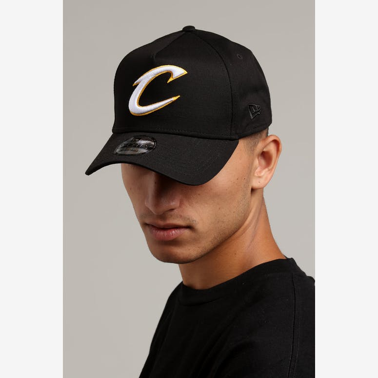 New Era Cleveland Cavaliers 9FORTY A-Frame Snapback Black – Culture Kings b9dff5b76