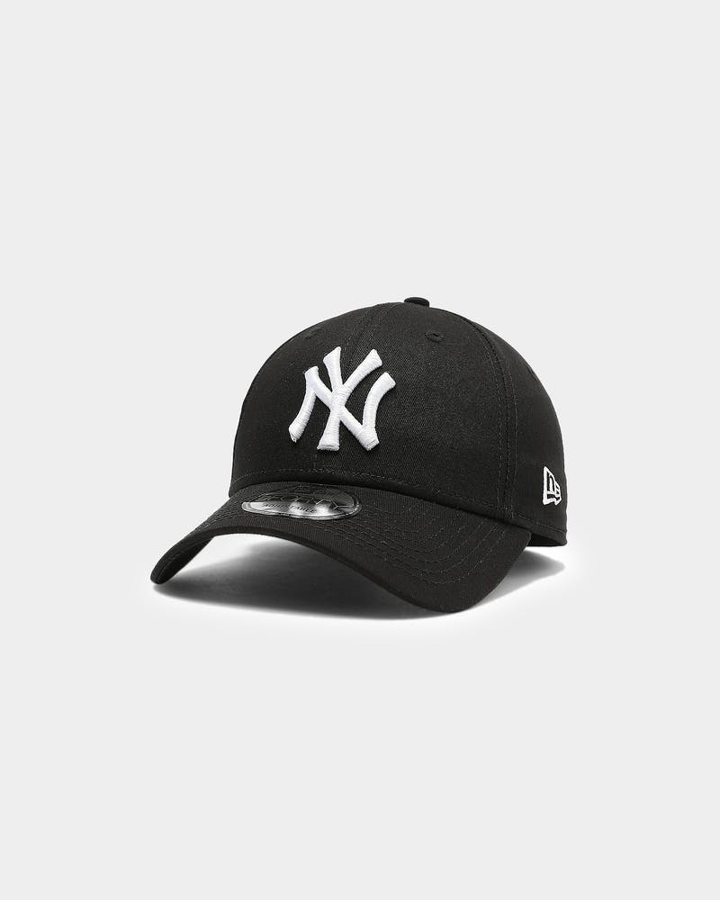 New Era Yankees 9FORTY Strapback Black/White