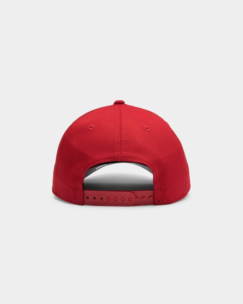 New Era New York Yankees 9FORTY A-Frame Grey Undervisor Snapback Red/Grey