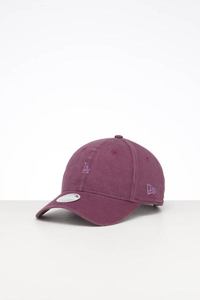 New Era Women's Los Angeles Dodgers 9FORTY Strapback Burgundy