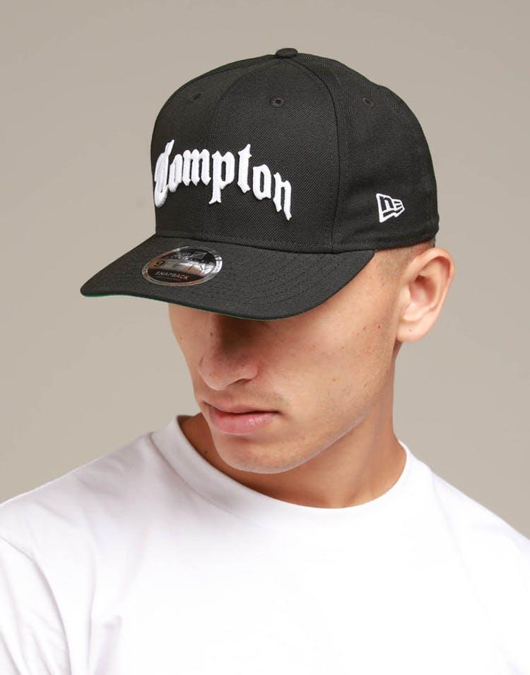 quality design 020a6 5db83 New Era Compton 9FIFTY Original Fit Snapback Black – Culture Kings