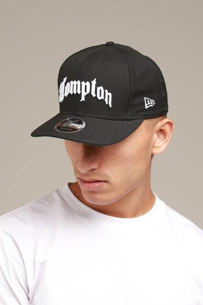 f4dcdbd1d7954c New Era Compton 9FIFTY Original Fit Snapback Black