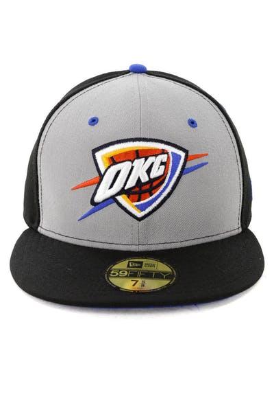 456c6b02b1d New Era Oklahoma City Thunder 59FIFTY Fitted Black. New era logo