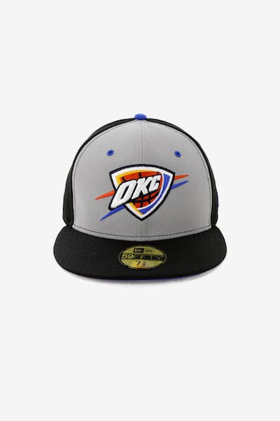New Era Oklahoma City Thunder 59FIFTY Fitted Black 8d7d8f50daf8