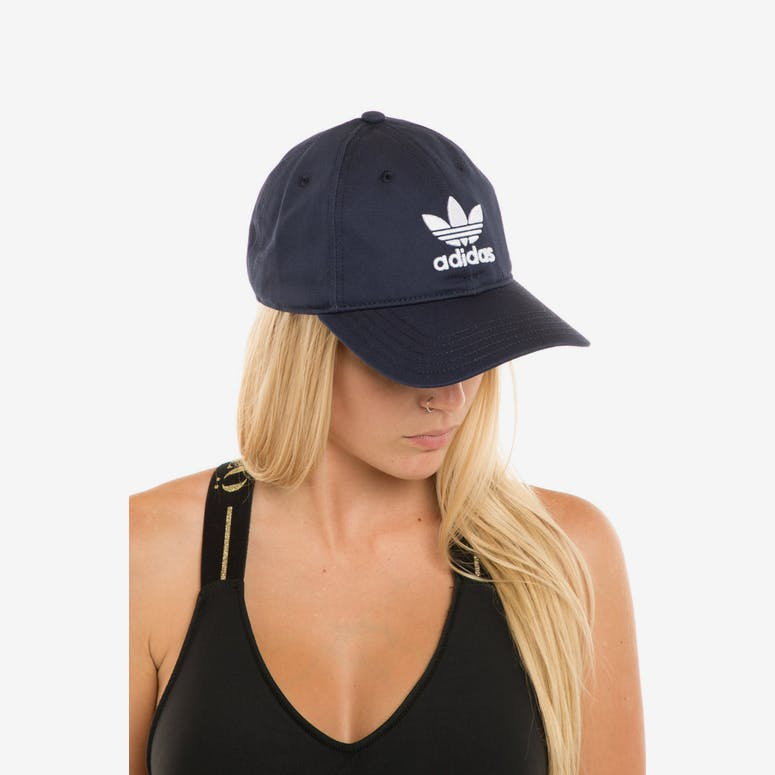 Adidas Women s Trefoil Cap Navy – Culture Kings e50439478da3