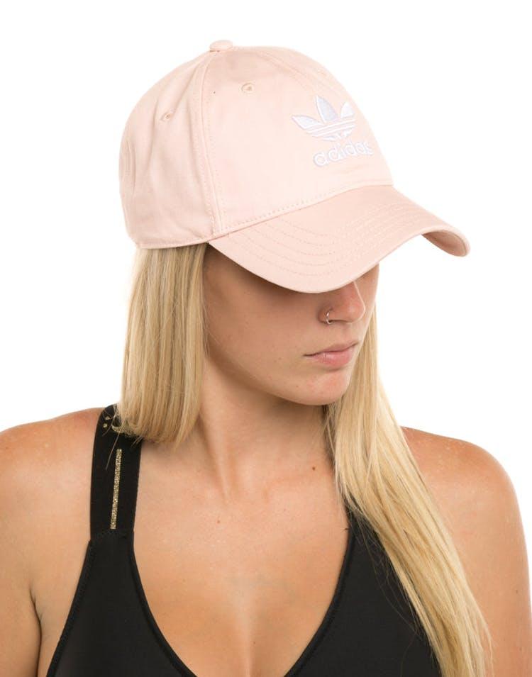 9c4cc1dcccc Adidas Women s Trefoil Cap Light Pink – Culture Kings