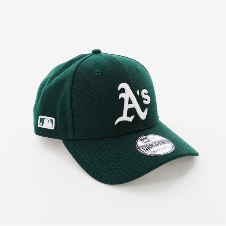 1283fabd034 New Era Athletics 9FORTY Snapback Dark Green – Culture Kings