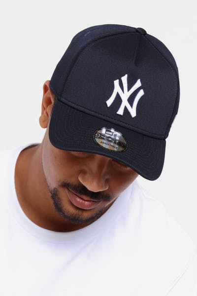 294eed5e287 New Era New York Yankees 9FORTY A-Frame Neo Snapback Navy