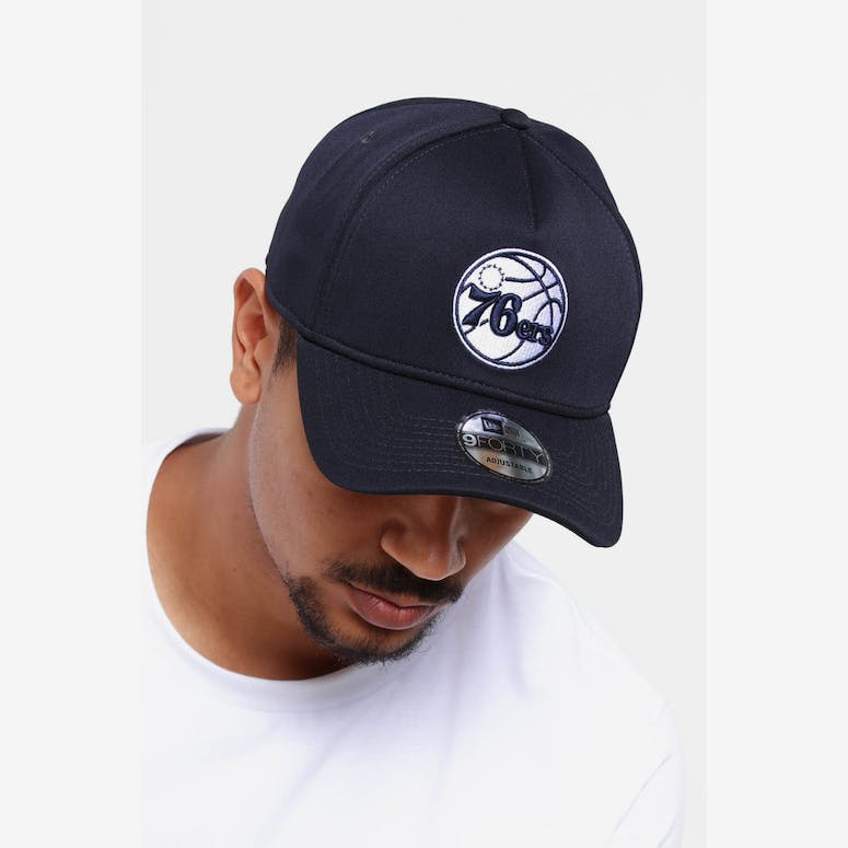 a1bc56394f29d New Era Philadelphia 76ers 9FORTY A-Frame Neo Snapback Navy – Culture Kings