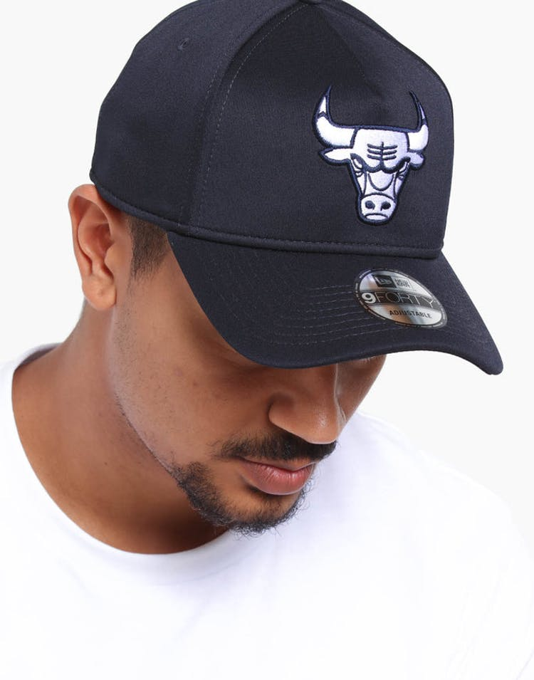 san francisco 68985 23080 New Era Chicago Bulls 9FORTY A-Frame Neo Snapback Navy – Culture Kings