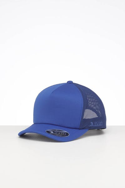 Flexfit Diamond Hi Crown Trucker Snapback Royal