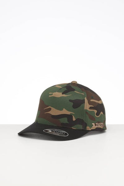 Flexfit Gravity 110 Pinch Snapback Camo/Black