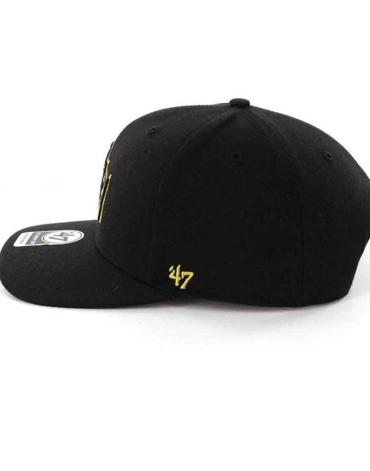 6ee6357f70d51 47 Brand LA Kings Audible MVP DP Snapback Black Black – Culture Kings