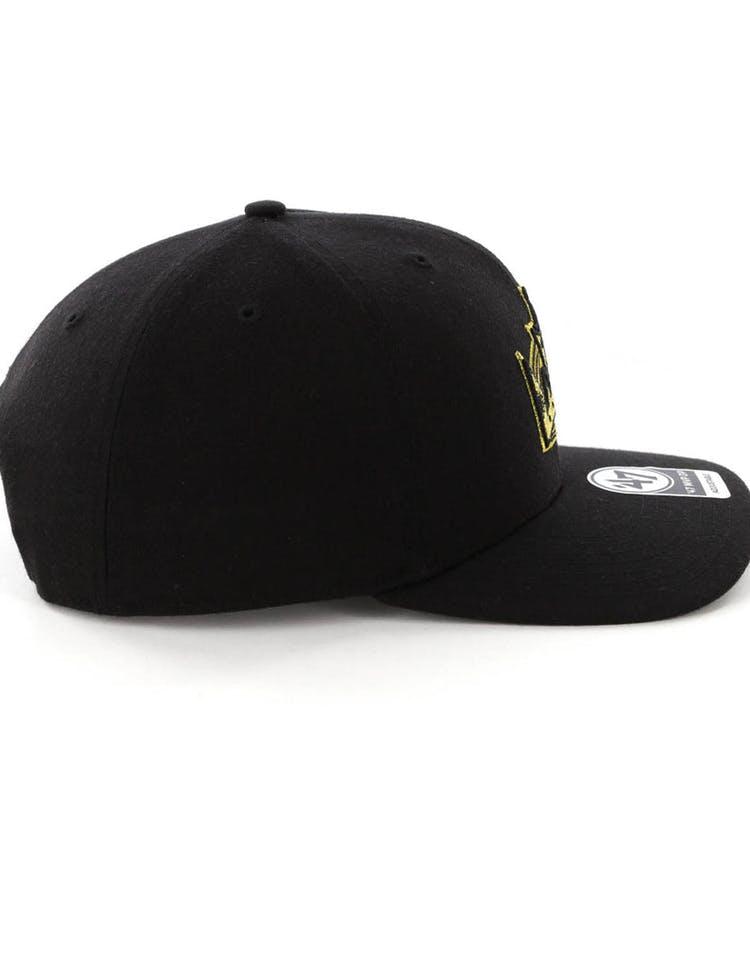 116a8804383 47 Brand LA Kings Audible MVP DP Snapback Black Black – Culture Kings