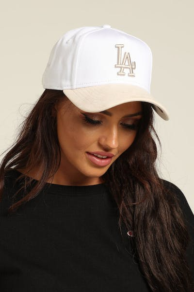 New Era Women's Los Angeles Dodgers 9FORTY A-Frame Snapback White/Cream