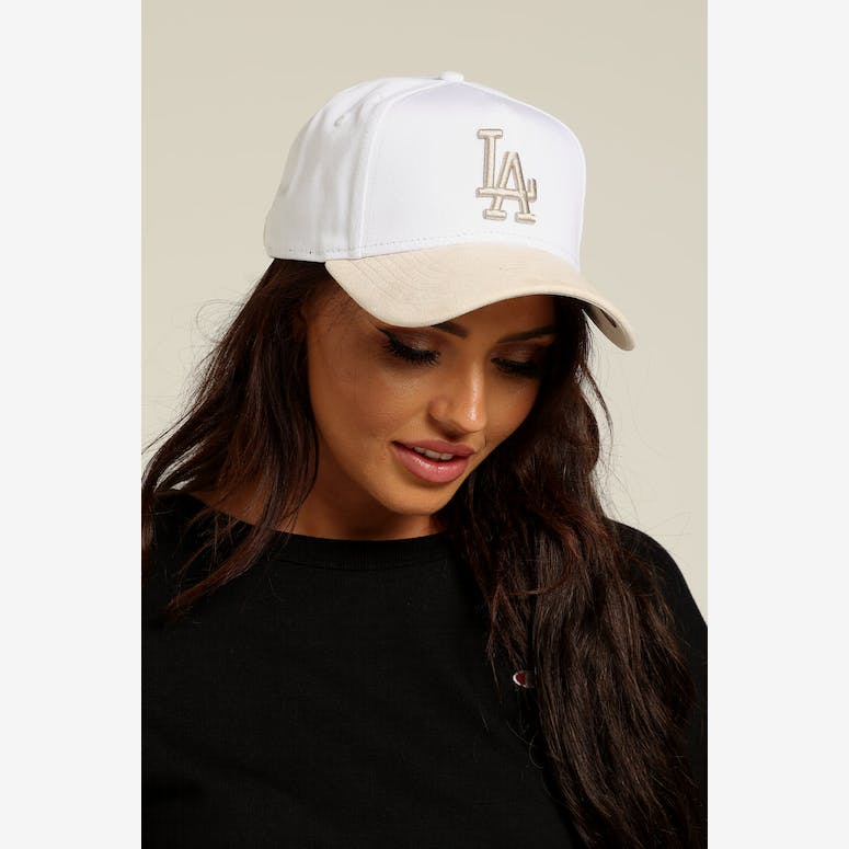 New Era Women s Los Angeles Dodgers 9FORTY A-Frame Snapback White Crea – Culture  Kings e7c35cdd4444