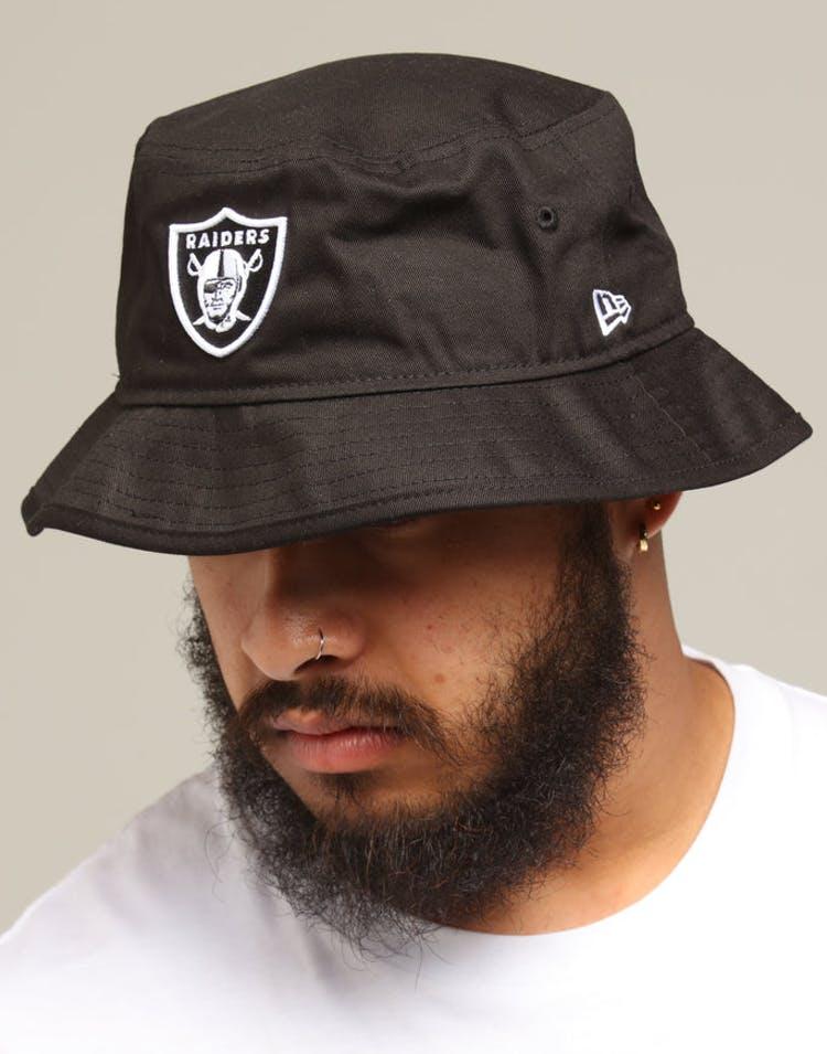 f1b1f8bc New Era Raiders Bucket Hat Black/White – Culture Kings