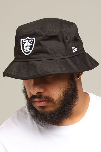 516bf7dac76 Men s Bucket Hats.  69.95. ONE. New Era Raiders Bucket Hat Black White