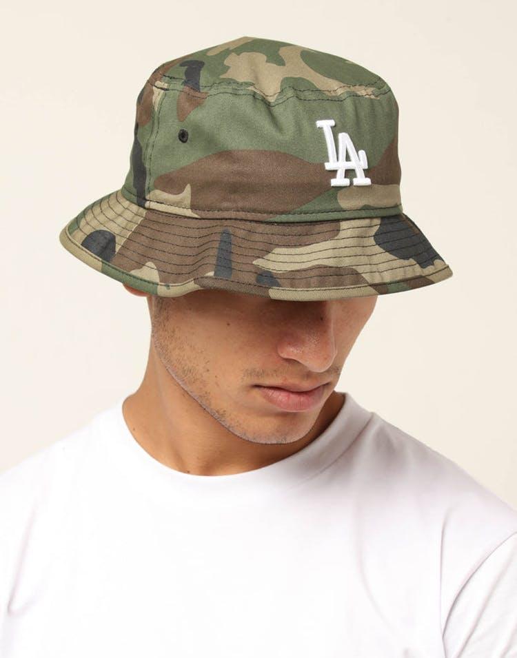 556b4630 New Era Los Angeles Dodgers Bucket Hat Camo – Culture Kings