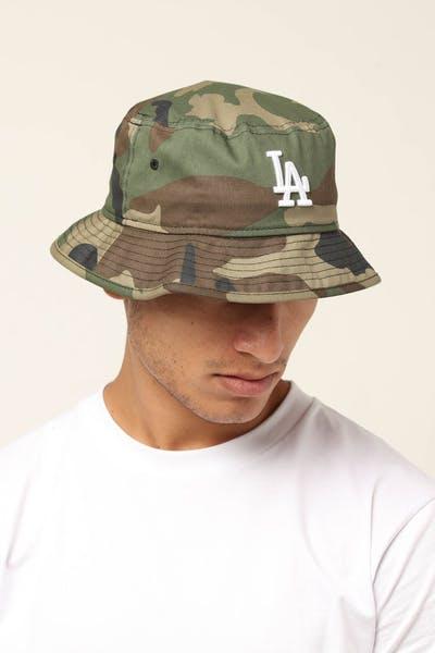 c05b969c0e8b2 New Era Los Angeles Dodgers Bucket Hat Camo