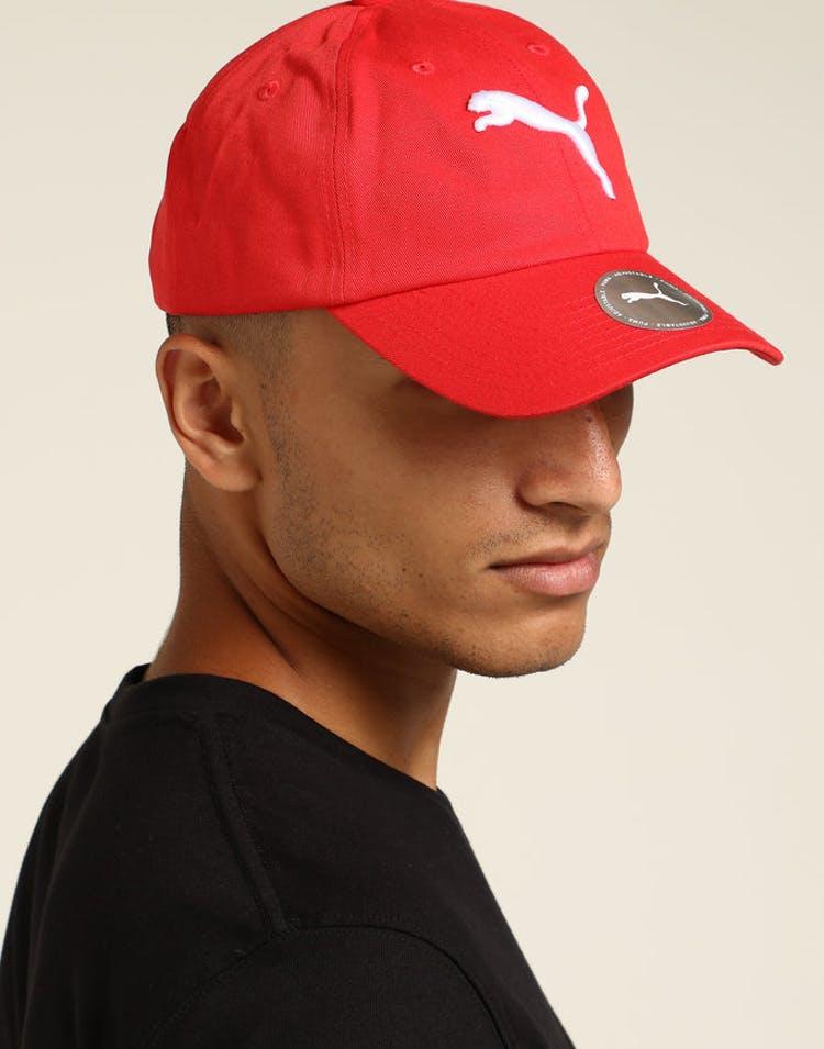quality design e0eba 73f17 Puma ESS Cap Big Cat Red – Culture Kings
