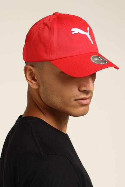 Puma ESS Cap Big Cat Red