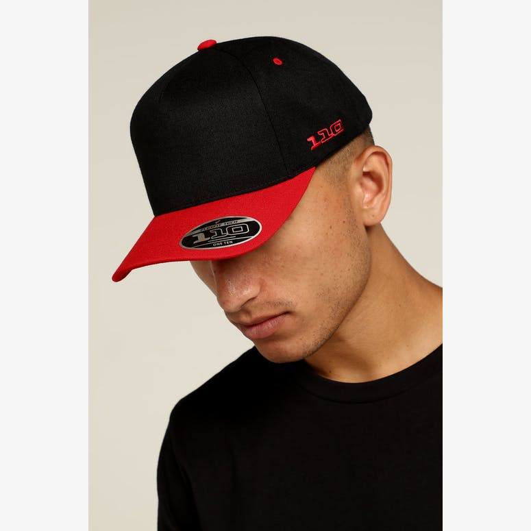 Flexfit Vintage Throwback 110 Snapback Black Red – Culture Kings e9791c8de3e