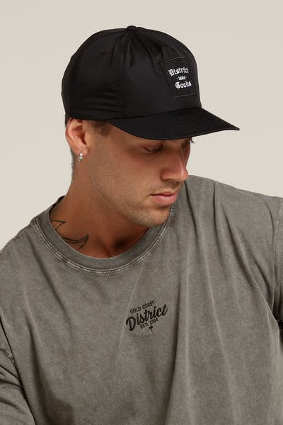 District Goods Ancient Snapback Black
