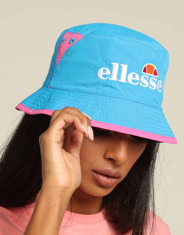 Ellesse Women's Carlo Reversible Bucket Hat Pink