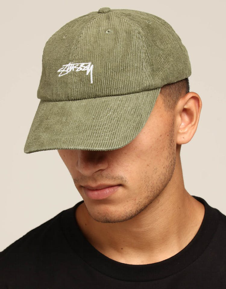 9c47462a15b Stussy Authentic Cord Low Pro Cap Green – Culture Kings