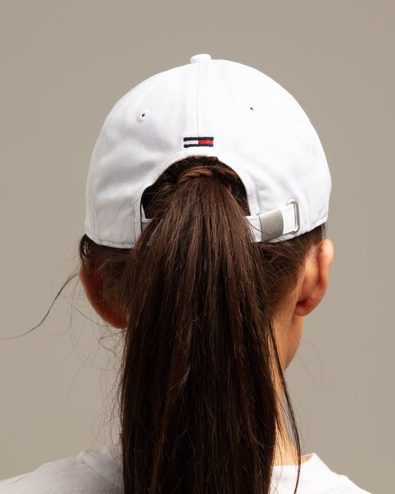 Tommy Jeans Women's TJW Multi Signature Cap White